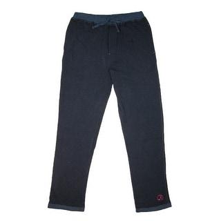 Robert Graham Men's Cotton Knit Pajama Pants - Navy