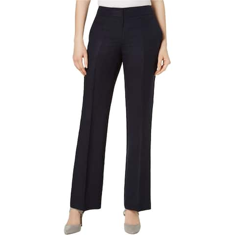 Nine West Womens Neo Classic Dress Pants, blue, 6