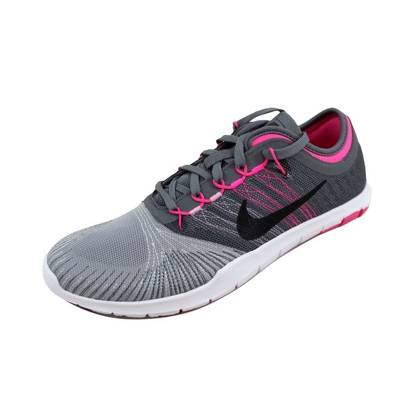 1675287393e5 ... Women s Athletic Shoes. Nike Women  x27 s Flex Adapt TR Wolf  Grey Black-Cool Grey