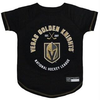 Vegas Golden Knights Pet T-Shirt - Medium
