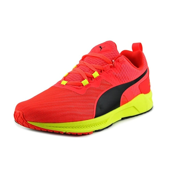 Puma Ignite v2 Men  Round Toe Synthetic Red Running Shoe