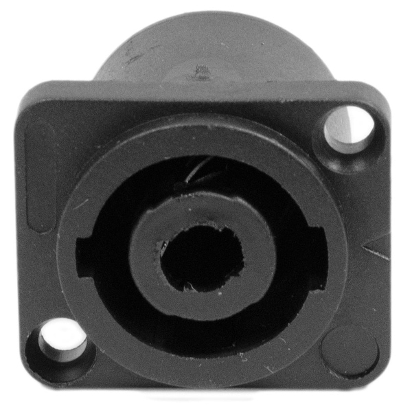 Seismic Audio 4 Pole Speakon Panel Mount Connector - Fits D Series Pattern Hole
