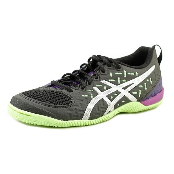 Asics Fortius TR Women Black/Silver/Pistachio Running Shoes