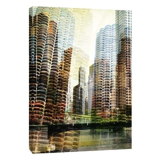 """PTM Images 9-109029  PTM Canvas Collection 10"""" x 8"""" - """"Chicago"""" Giclee Chicago Art Print on Canvas"""