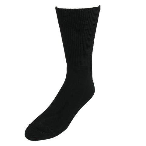 Extra Wide Sock Co. Men's Big & Tall Cotton Medical Socks