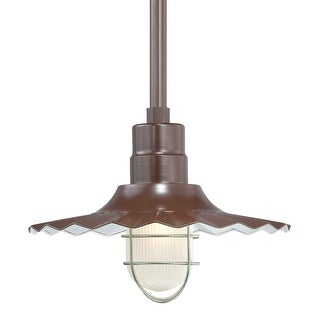 "Millennium Lighting RRWS15 R Series 1 Light 15"" Wide Outdoor Shade (More options available)"