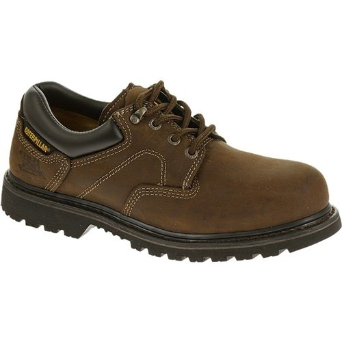 CAT Footwear Ridgemont Steel Toe - Dark Brown 11(W) Mens Work Shoe