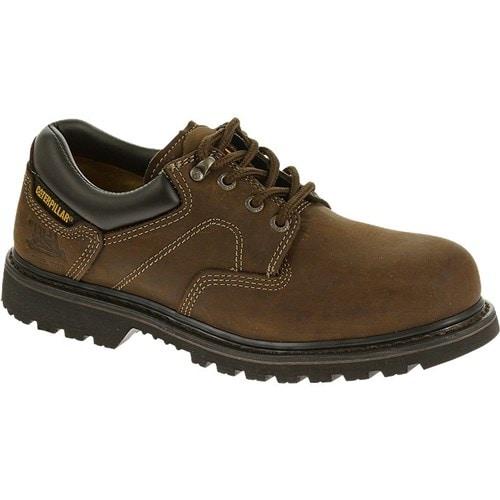 CAT Footwear Ridgemont Steel Toe - Dark Brown 11(W) Mens Work Shoe