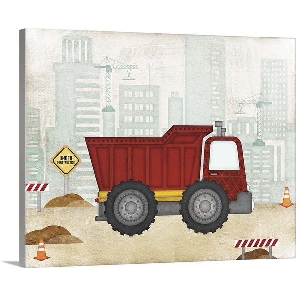 """""""Truck"""" Canvas Wall Art"""