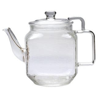 Teaposy TPGL-715FB Plato Glass Teapot - CLEAR|https://ak1.ostkcdn.com/images/products/is/images/direct/b11fc27f6b195aa45ecbe75244f2a7a3546e9480/Teaposy-TPGL-715FB-Plato-Glass-Teapot.jpg?impolicy=medium