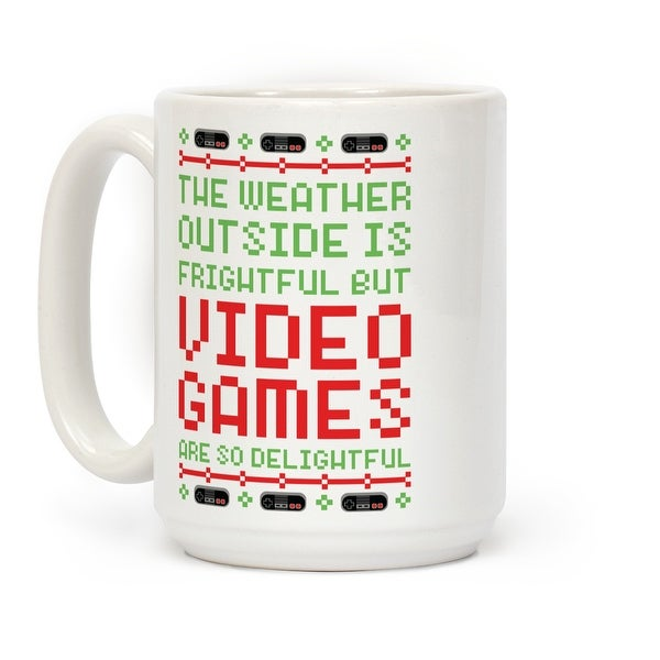 Ceramic Video Lookhuman Delightful Coffee Mug So Are Ounce Games By 15 White b7gy6Yf