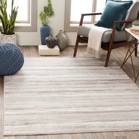 Ajax Modern Striped Area Rug
