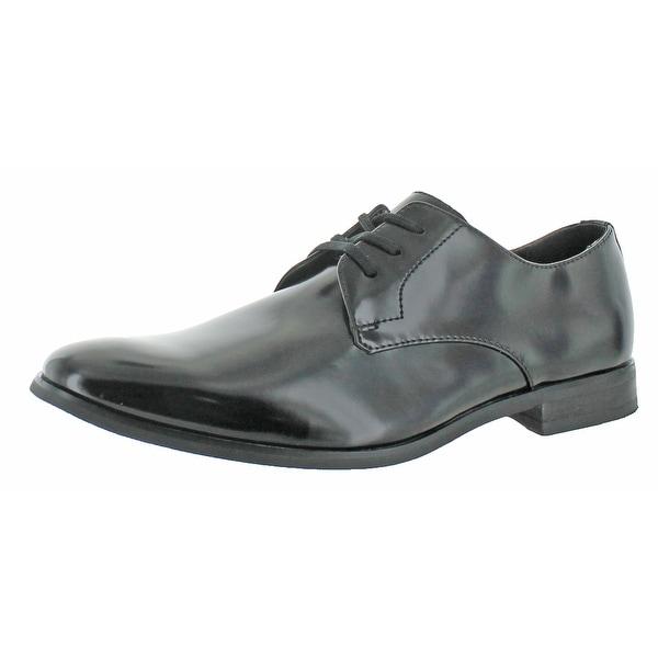 Calvin Klein Men's Taye Leather Dress Oxford Shoes
