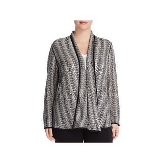 Nic + Zoe Womens Plus Cardigan Sweater Work Wear Long Sleeves - 1X