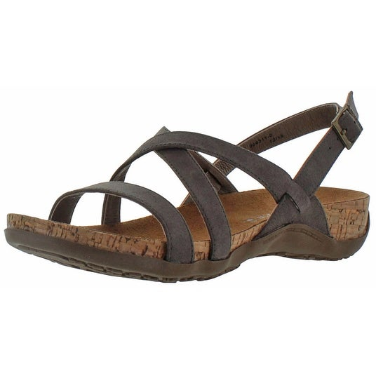 Bearpaw Hazel Women's Low Heel Slingback Cork Sandals - Free Shipping On  Orders Over $45 - Overstock.com - 22268818