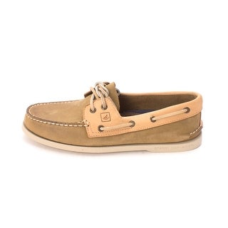 Sperry Womens linen Closed Toe Boat Shoes