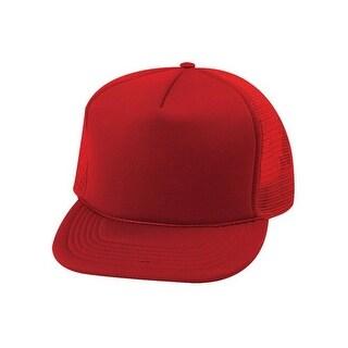 Trucker SUMMER MESH CAP, Red,One Size