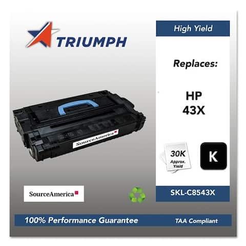 Triumph Remanufactured 43X Toner Cartridge - Black Toner Catridge