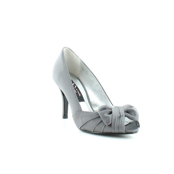 Nina Forbes Women's Heels Steel Luster