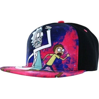 Hat Rick Morty Galaxy Run