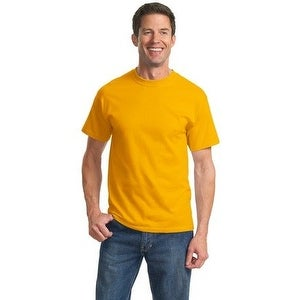 Port & Company Cotton Short-Sleeve T-Shirt (PC61) Gold M
