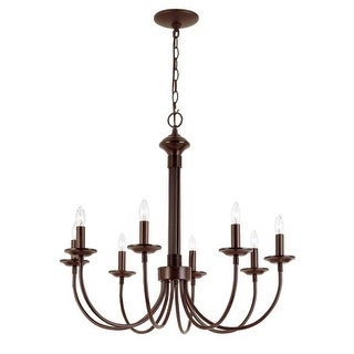 trans globe lighting traditional 8 light up lighting chandelier from the new century collection