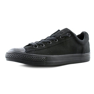 Converse Chuck Taylor Street OX Round Toe Canvas Sneakers