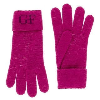 Gianfranco Ferre GUA01041 Wool Blend Knitted Gloves