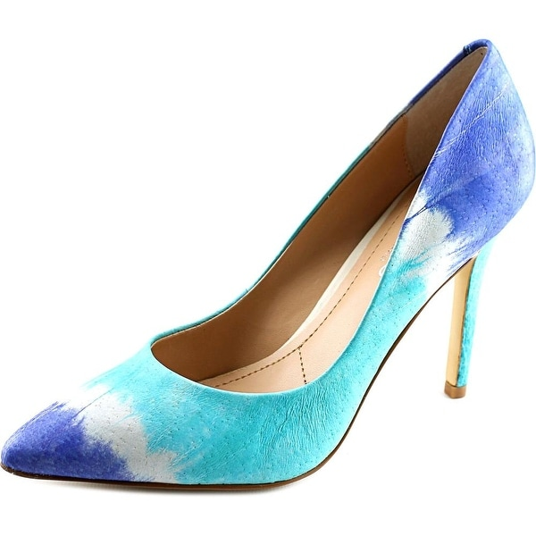 Charles By Charles David Pact Pointed Toe Leather Heels
