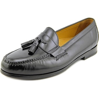 Cole Haan Pinch Air.Tassel Men Moc Toe Leather Black Loafer