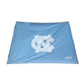 NCAA North Carolina Tar Heels 10x10 Slant Leg Canopy Shelter Wall - LIGHT BLUE