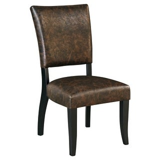 Ashley Furniture D775-02 Dining UPH Side Chair Set of 2