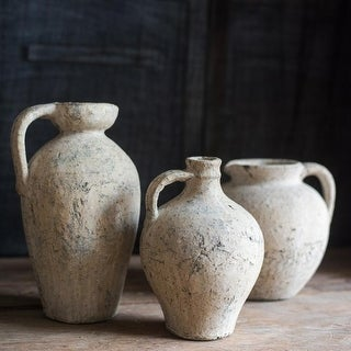 RusticReach Ancient Pompeii Style Handmade Art Amphora Vase Pot