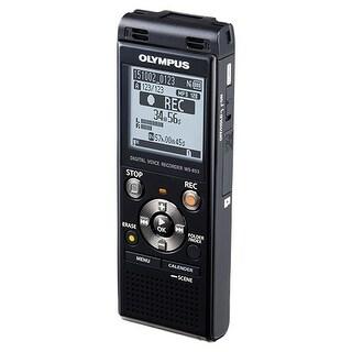 """Olympus V415131BU000 Olympus WS-853 8GB Digital Voice Recorder - 8 GBmicroSD Supported - MP3 - Headphone - 2080"