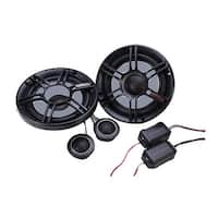 "Crunch 6.5"" 2-Way Component Speaker 300W Max"