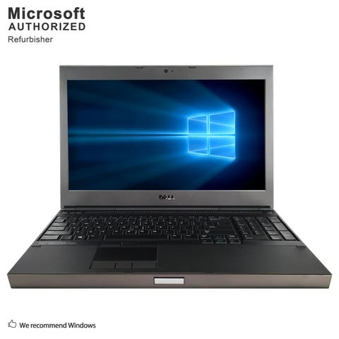 "Dell Precision M4800 15.6"" Laptop Core I7-4800MQ 2.7G 8G RAM 480G SSD DVD 2G DG WIFI Windows 10 Home (Refurbished A Grade)"