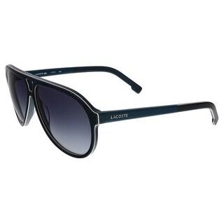 Lacoste L741/S 424 Blue Aviator sunglasses Sunglasses