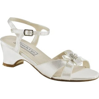 Touch Ups Girls' Tina White Satin