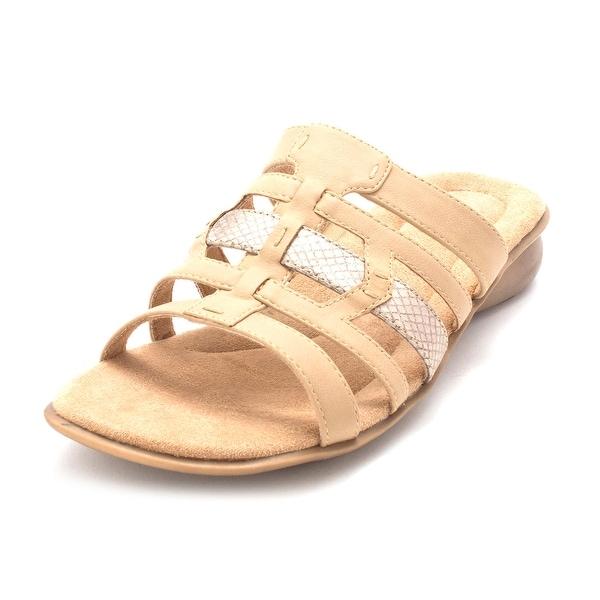 Naturalizer Womens JASTER Open Toe Beach Slide Sandals