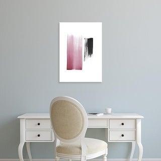 Easy Art Prints Iris Lehnhardt's 'Black & Blush' Premium Canvas Art