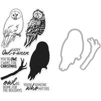 Hero Arts Color Layering Bundle-Owl