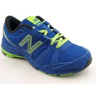 New Balance KJ690 Round Toe Synthetic Running Shoe