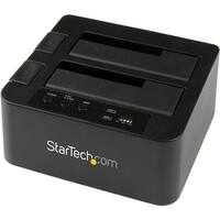 """StarTech SDOCK2U33RE StarTech.com eSATA / USB 3.0 Hard Drive Duplicator Dock - Standalone HDD Cloner with SATA 6Gbps for"