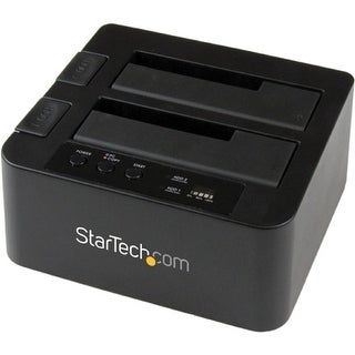 """StarTech SDOCK2U33RE StarTech.com eSATA / USB 3.0 Hard Drive Duplicator Dock - Standalone HDD Cloner with SATA 6Gbps for"