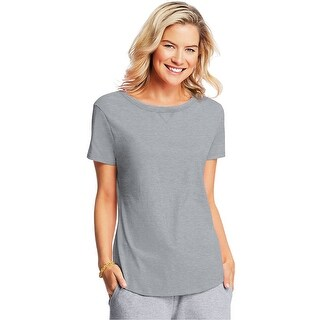 Hanes X-Temp® Women's V-Notch Tee - Size - XL - Color - Light Steel