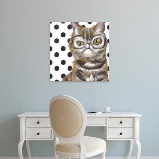 Easy Art Prints Jennifer Rutledge's 'Dapper Animal IX' Premium Canvas Art