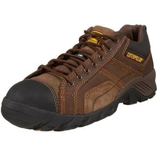 Caterpillar Mens Argon Leather Composite Toe Work Shoes