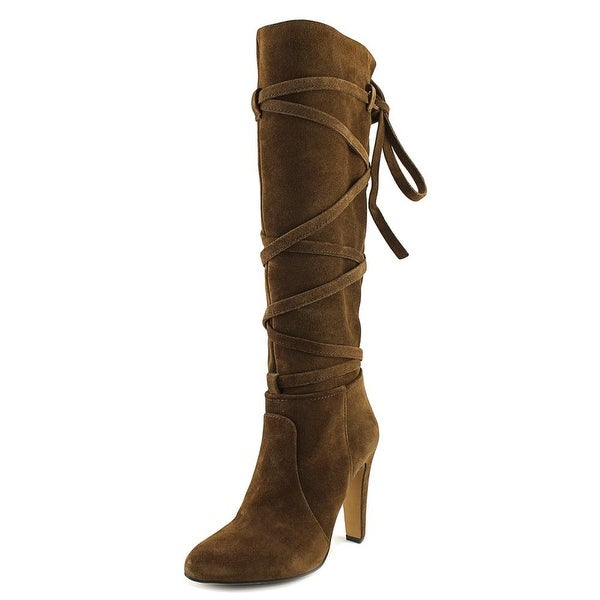 10b0ece4534 Shop Vince Camuto Millay Women Round Toe Suede Brown Knee High Boot ...