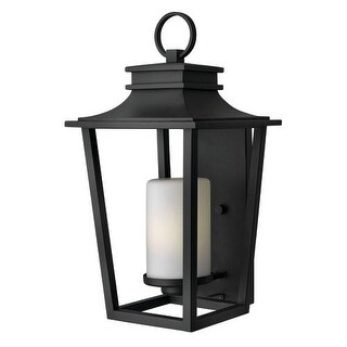 """Hinkley Lighting 1745-LED 1 Light 23"""" Height LED Outdoor Lantern Wall Sconce from the Sullivan Collection"""