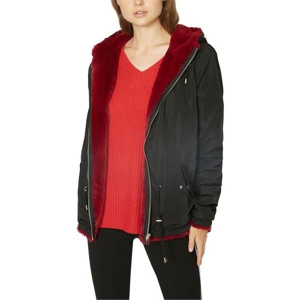 Sanctuary Clothing Womens Reversible Parka Coat. Opens flyout.